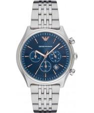 Emporio Armani AR1974 Mężczyźni ubierają Srebrna bransoleta ze stali zegarek