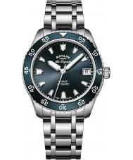 Rotary LB90168-05 zegarki damskie Legacy srebro stal bransoletka zegarek