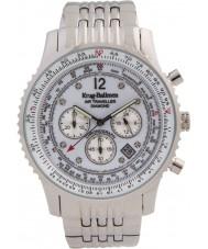 Krug-Baumen 600301DS Mężczyźni podróżnego powietrza diamond watch