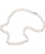 Purity 925 PUR6145 Panie biały perłowy naszyjnik 45cm