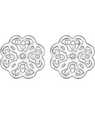 Thomas Sabo H1881-051-14 Panie filigran arabeska srebrne kolczyki