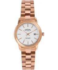 Rotary LB02739-06 zegarki damskie mścicielem wzrosła pozłacany zegarek