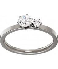 Edblad 31630133-M Panie podwójna korona srebro stal ring - wielkość p (m)