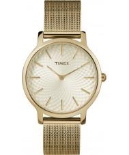 Timex TW2R36100 Zegarek panoramę metropolii damskiej