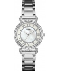 Guess W0831L1 Panie Południowej Hampton srebro stal bransoletka zegarek