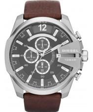 Diesel DZ4290 Mężczyźni mega szef brązowy czarny zegarek chronograf