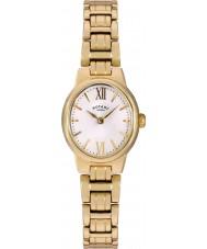Rotary LB02748-01 zegarki damskie olivie pozłacany zegarek
