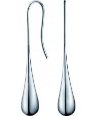 Calvin Klein KJ3QME000100 Panie srebrne kolczyki ze stali elipsy