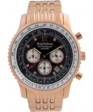 Krug-Baumen 600602DS Mężczyźni podróżnego powietrza diamond watch