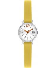 Orla Kiely OK2007 Panie Frankie żółty skórzany pasek zegarka