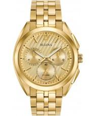 Bulova 97A125 Mens progressive sukienka zegarek curv