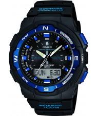 Casio SGW-500H-2BVER Mężczyźni kolekcja kompas czarny combi zegarek