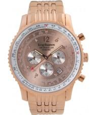 Krug-Baumen 600603DS Mężczyźni podróżnego powietrza diamond watch