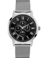 Guess W0871G1 Mens Delancey srebra stalowy zegarek bransoletka