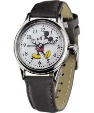 Disney by Ingersoll 25570 Panie klasyczne Mickey Mouse szary pasek zegarka nubuku
