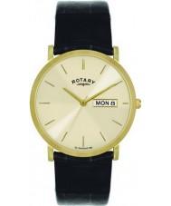 Rotary GS02624-03-DD Mężczyźni pozłacany zegarek szampana