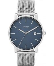 Skagen SKW6327 Mężczyźni Hagen srebro stal zegarek bransoleta mesh