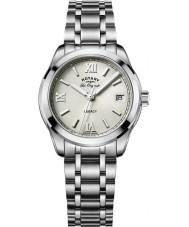 Rotary LB90173-06 zegarki damskie Legacy srebro stal bransoletka zegarek