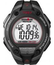 Timex T5K417 Mens black ironman 30 okrążenia oversize sporta zegarek