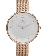 Skagen SKW2142 Panie Klassik wzrosła złoty zegarek siatkową