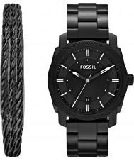 Fossil FS5393SET Męski zegarek prezentowy