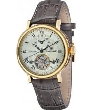 Thomas Earnshaw ES-8047-03 Męska Beaufort garnek brązowy skórzany pasek zegarka