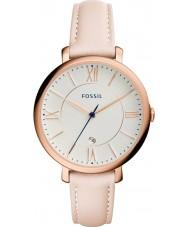 Fossil ES3988 Panie Jacqueline lekki rumieniec skórzany pasek zegarka