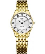 Rotary LB90803-01 Panie Ultra Slim pozłacany zegarek