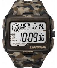 Timex TW4B07300 Mężczyźni szok siatki brązowy żywicy pasek zegarka