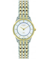 Rotary LB08001-02 Panie Ultra Slim zegarek two tone