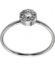 Edblad 41530065-M Thassos Women mini srebrny stalowy pierścień - rozmiar p (m)