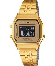 Casio LA680WEGA-9BER Kolekcja Klasyczna pozłacany zegarek