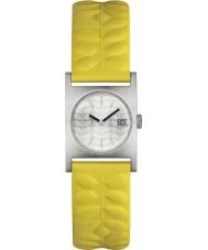Orla Kiely OK2129 Panie nemo żółty skórzany pasek zegarka