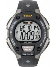 Timex T5E901 Czarny ironman 30 okrążenia pełnym rozmiarze sportowy zegarek