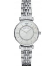 Emporio Armani AR1908 Panie posrebrzane bransoletka sukienka zegarek związek