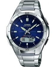 Casio WVA-M640D-2AER Mężczyźni fali Ceptor Zegarek zasilany energią słoneczną