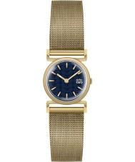 Orla Kiely OK4038 Cecelia Ladies złota bransoletka zegarek siatki