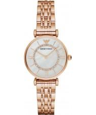 Emporio Armani AR1909 rose Ladies pozłacane łącza strój bransoletka zegarek