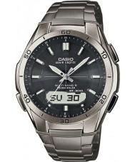 Casio WVA-M640TD-1AER Mężczyźni fali Ceptor tytanu zegarek zasilany energią słoneczną