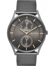 Skagen SKW6180 Mens Holst brązu bransoletka oczek zegarek