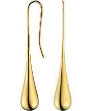 Calvin Klein KJ3QJE100100 Panie elipsy pozłacane kolczyki