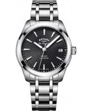 Rotary LB90165-04 zegarki damskie Legacy srebro stal bransoletka zegarek