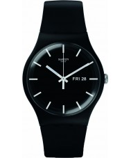 Swatch SUOB720 New Gent - mono czarny zegarek