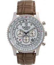 Krug-Baumen 600501DS Mężczyźni podróżnego powietrza diamond watch