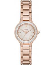 DKNY NY2393 Komory Women wzrosła pozłacany zegarek