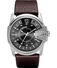 Diesel DZ1206 Mężczyźni Master Chief szary brązowy zegarek