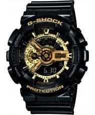 Casio GA-110GB-1AER Mężczyźni g-shock czarna żywica czas światowy combi zegarek