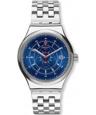 Swatch YIS401G Mężczyźni sistem borealno srebrna bransoleta ze stali zegarek