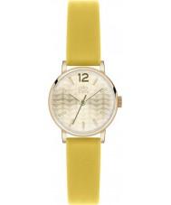 Orla Kiely OK2020 Panie Frankie żółty skórzany pasek zegarka