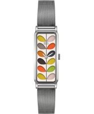 Orla Kiely OK4049 Panie macierzystych Srebrna bransoleta ze stali zegarek